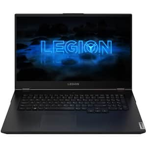 "Laptop Gaming LENOVO Legion 5 17IMH05, Intel Core i7-10750H pana la 5.0GHz, 17.3"" Full HD, 16GB, SSD 512GB, NVIDIA GeForce GTX 1650 Ti 4GB, Free DOS, negru"