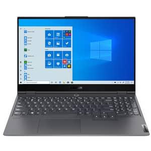 "Laptop Gaming LENOVO Legion S7 15IMH5, Intel Core i7-10875H pana la 5.1GHz, 15.6"" Full HD, 16GB, SSD 1TB + 512GB, NVIDIA GeForce RTX 2060 Max-Q 6GB, Windows 10 Home, gri"