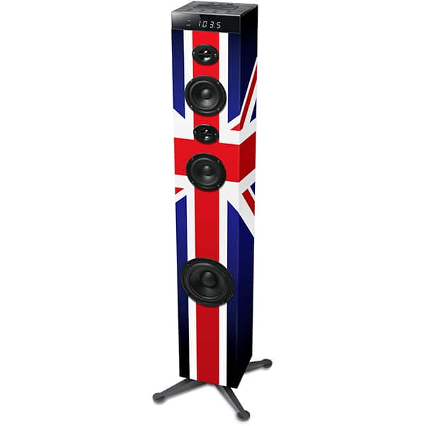 Sistem audio MUSE Tower M-1280 BTK, 120W, Bluetooth, NFC, USB, Radio FM, negru