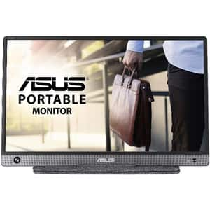 "Monitor portabil LED IPS ASUS ZenScreen MB16AH, 15.6"", 60Hz, Full HD, Flicker Free, gri inchis"