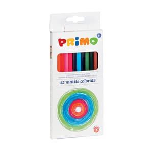 Creioane colorate MOROCOLOR Primo, 12 culori