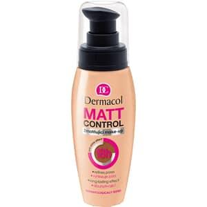 Fond de ten DERMACOL Matt Control MakeUp, W2, 30ml