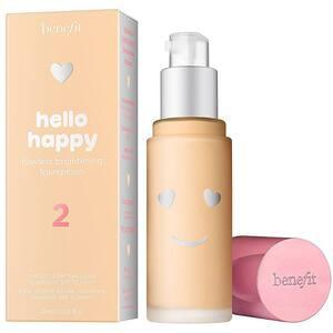 Fond de ten BENEFIT Hello Happy Flawless, 02 Light Warm, 30ml