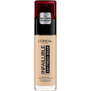 Fond de ten L'OREAL PARIS Infaillible 24H Fresh Wear, 130 True Beige, 30ml