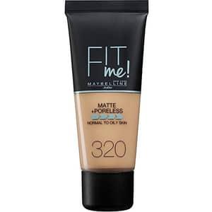 Fond de ten MAYBELLINE NEW YORK Fit Me Matte&Poreless, 320 Natural Tan, 30ml