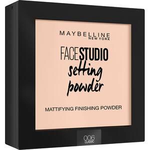Pudra compacta de fixare MAYBELLINE NEW YORK Face Studio Setting Powder, 006 Classic