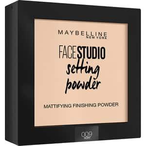 Pudra compacta de fixare MAYBELLINE NEW YORK Face Studio Setting Powder, 009 Ivory