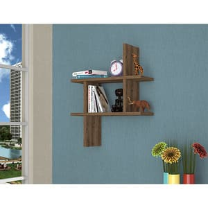 Raft perete Dolce, 50 x 15 x 60 cm, nuc