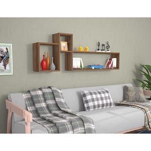 Raft perete Polite, 155 x 22 x 55 cm, nuc