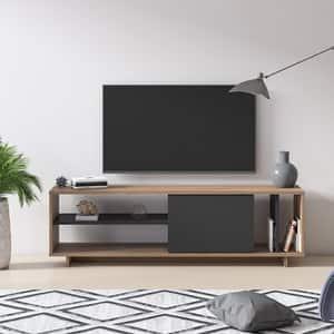 Comoda TV Ruby, stejar, 152 x 35 x 43 cm