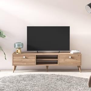 Comoda TV Vega, stejar, 152 x 35 x 40 cm