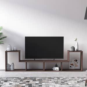 Comoda TV Legon, nuc, 190 x 25 x 50 cm