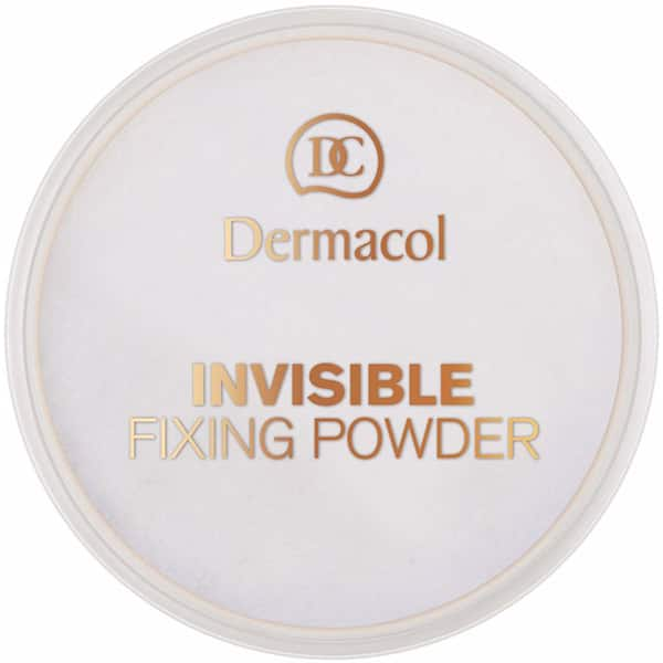 Pudra pulbere DERMACOL Invisible Fixing Powder, Light, 13ml
