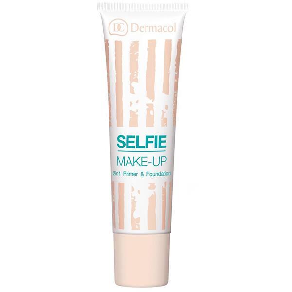 Fond de ten DERMACOL Selfie Make-Up, 02 Beige, 25ml