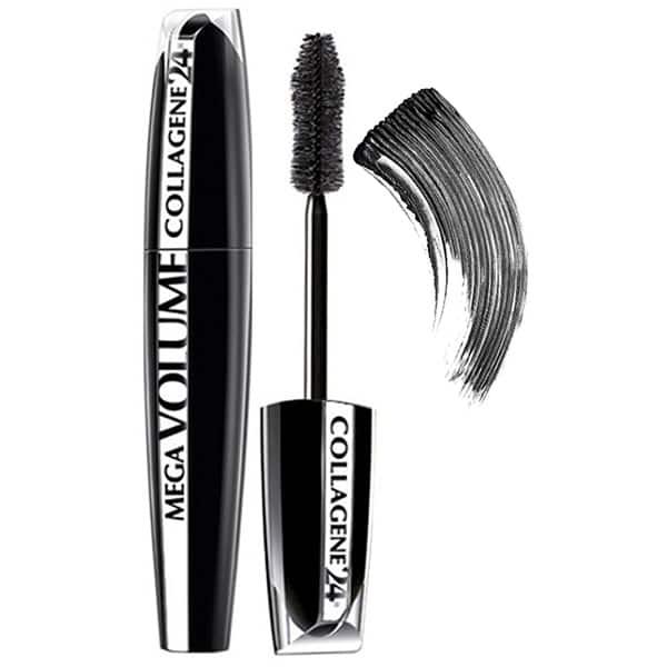Mascara L'OREAL PARIS Mega Volume Collagen, Extra Black, 9ml
