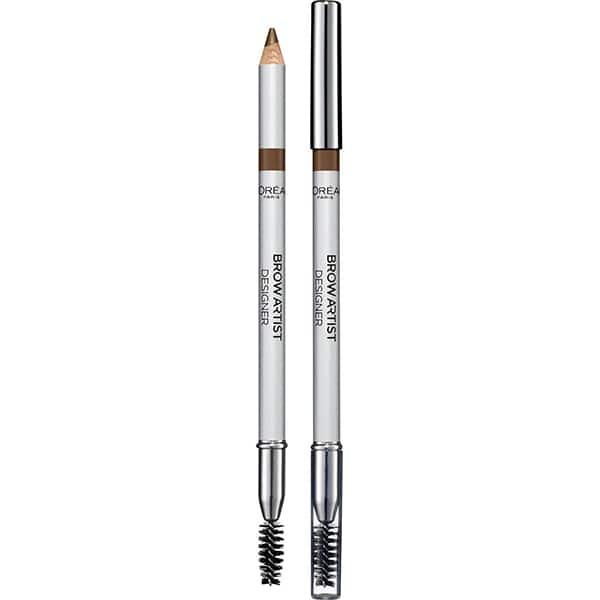 Creion pentru sprancene L'OREAL PARIS Brow Artist Designer, 302 Golden Brown, 5g