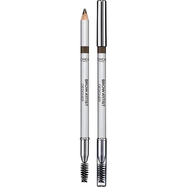 Creion pentru sprancene L'OREAL PARIS Brow Artist Designer, 303 Deep Brown, 5g