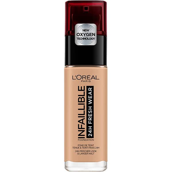 Fond de ten L'OREAL PARIS Infaillible 24H Fresh Wear, 140 Golden Beige, 30ml