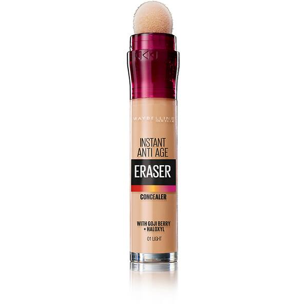 Corector MAYBELLINE NEW YORK Instant Anti Age Eraser, 01 Light, 6.8ml