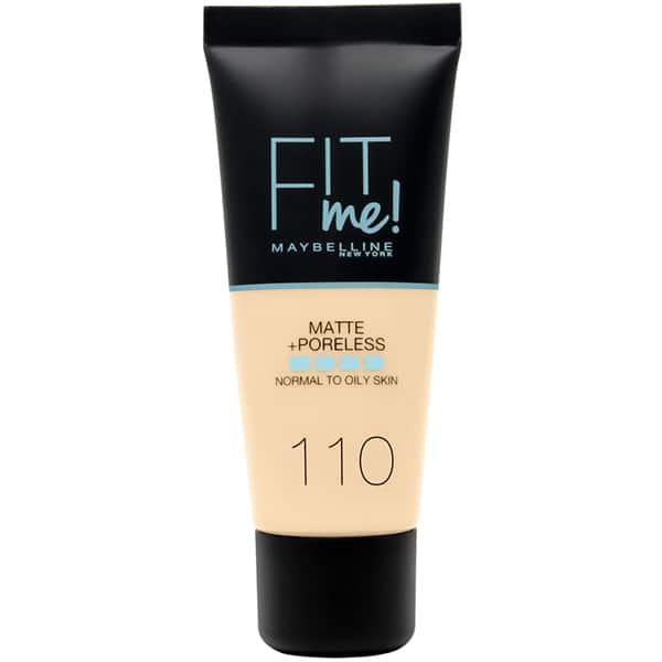 Fond de ten MAYBELLINE NEW YORK Fit Me Matte&Poreless, 122 Creamy Beige, 30ml