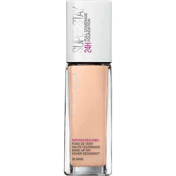 Fond de ten MAYBELLINE NEW YORK Superstay 24H, 30 Sand, 30ml