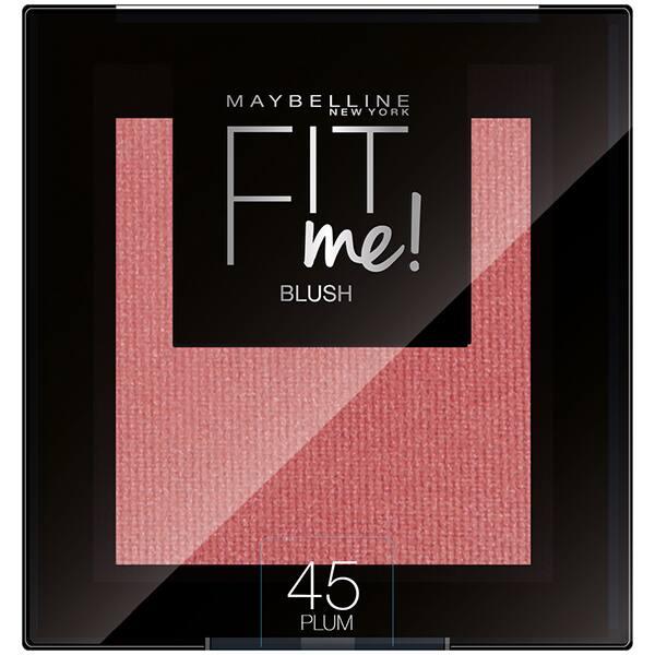 Fard de obraz MAYBELLINE NEW YORK Fit Me Blush, 45 Plum, 4.5g