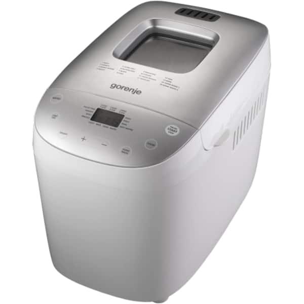 Masina de copt paine GORENJE BM1600WG, 1.6kg, 16 programe, 850W, alb-argintiu