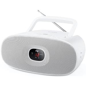 Radio CD portabil MUSE MD-202 RDW, CD, FM/MW, alb