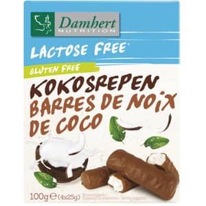 Baton de ciocolata DAMHERT Kokosrepen, 25 g, 2 bucati