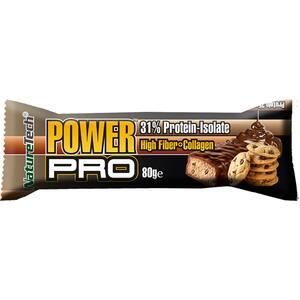 Baton energizant NATURE TECH Power Pro cookies, 80g, 6 bucati