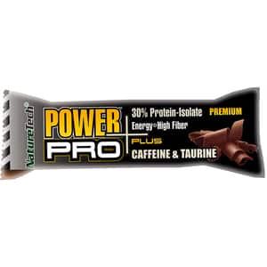 Baton energizant NATURE TECH Power Pro Plus crema de ciocolata, 80g, 6 bucati