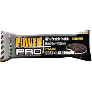 Baton energizant NATURE TECH Power Pro Plus cookies si frisca, 80g, 6 bucati