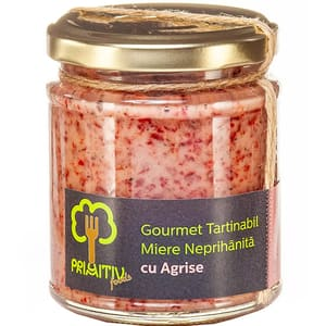 Gourmet tartinabil cu agrise PRIMITIV FOODS, 250g