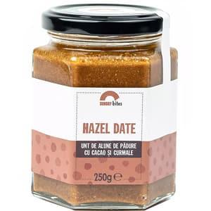 Unt de alune Hazel Date SUNDAY BITES, 250g