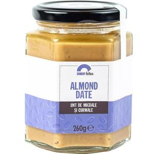 Unt de migdale Almond Date SUNDAY BITES, 260g