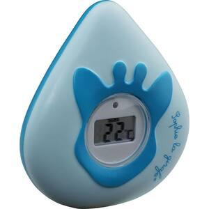 Termometru de baie si camera VULLI Girafa Sophie 523516, albastru-bleu