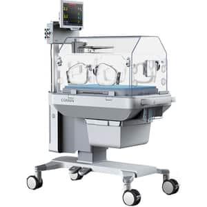 """Incubator nou-nascuti COMEN B8, control O2, 12.1"""", Touch screen, Acumulator Li-Ion, crem"""