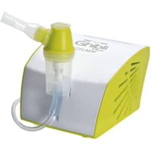 Aparat aerosoli cu piston FLAEM NUOVA Ghibli Plus FLAEMSA04P00, 8 ml, alb-verde