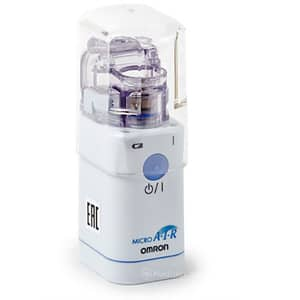 Aparat aerosoli cu ultrasunete OMRON MicroAir U22 NE-U22-E, 7ml, alb