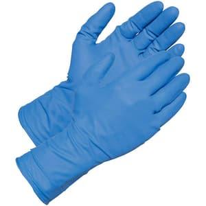 Manusi de unica folosinta GOLDGLOVE Blue Powder Free, nitril, marime XL, 100 buc
