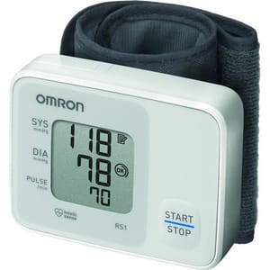 Tensiometru digital de incheietura OMRON RS1, alb
