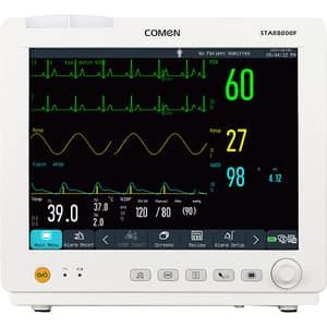 "Monitor functii vitale COMEN STAR800F, 12.1"", Touch screen, Acumulator Li-Ion, crem + Imprimanta IBP, EtCO2"