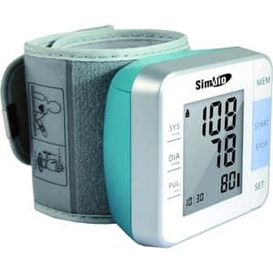 Tensiometru digital SIMBIO W02, 120 memorii, alb