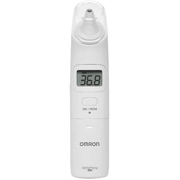 Termometru infrarosu pentru ureche OMRON Gentle Temp 520 MC-520-E, alb