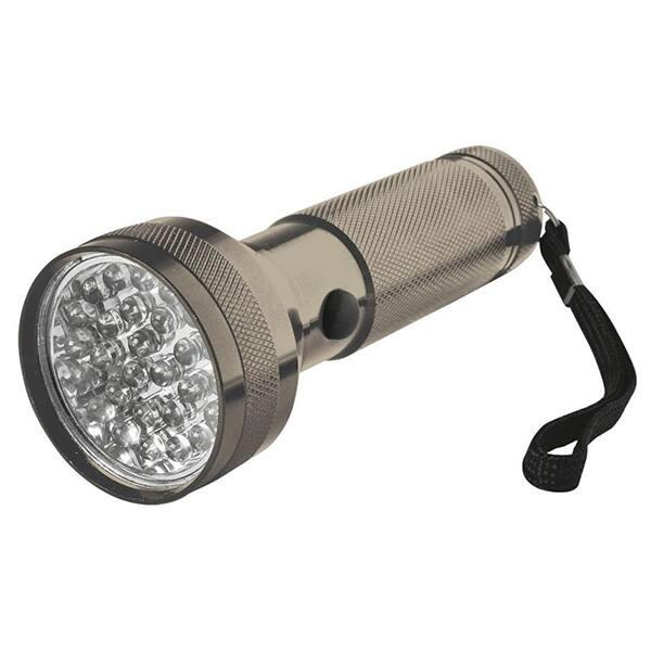 Lanterna metalica cu LED-uri HOME MFL 03, 28 LED-uri, negru