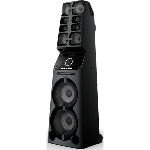 Sistem audio High Power SONY MHCV90DW, Bluetooth, NFC, Wi-Fi, USB, DVD, Party Music, Mega Bass, Iluminare, negru