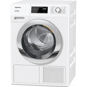 Uscator de rufe MIELE TEF 655 WP, Pompa de caldura, 8 kg, 12 programe, Clasa A+++, alb