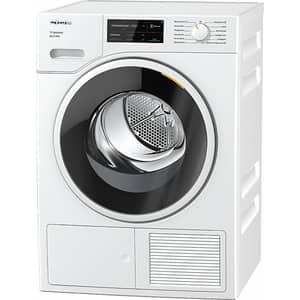 Uscator de rufe MIELE TSJ 663 WP, Pompa de caldura, Wi-Fi, 9 kg, 19 programe, Clasa A+++, alb