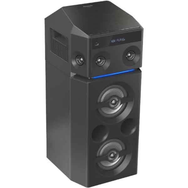 Sistem audio High Power PANASONIC SC-UA30E-K, 300W, Bluetooth, USB, CD, Radio FM, Full Karaoke, negru