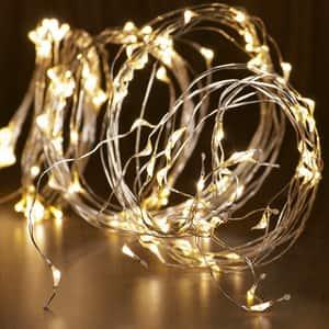 Ghirlanda luminoasa HOME ML 120/WW, 120 micro led-uri, 1.9m, iluminare alb cald